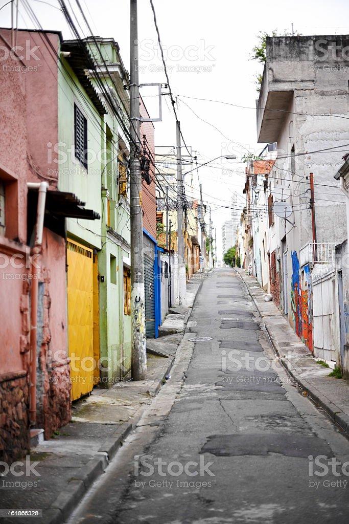 Streets of Sao Paulo stock photo