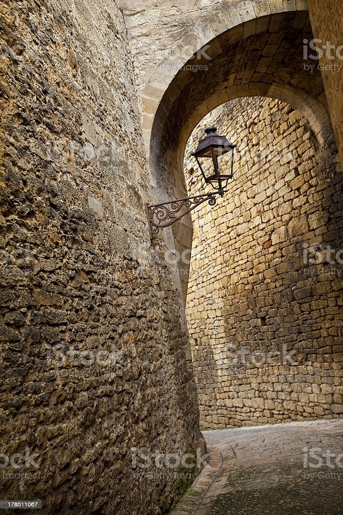 Streets of Sarlat royalty-free stock photo