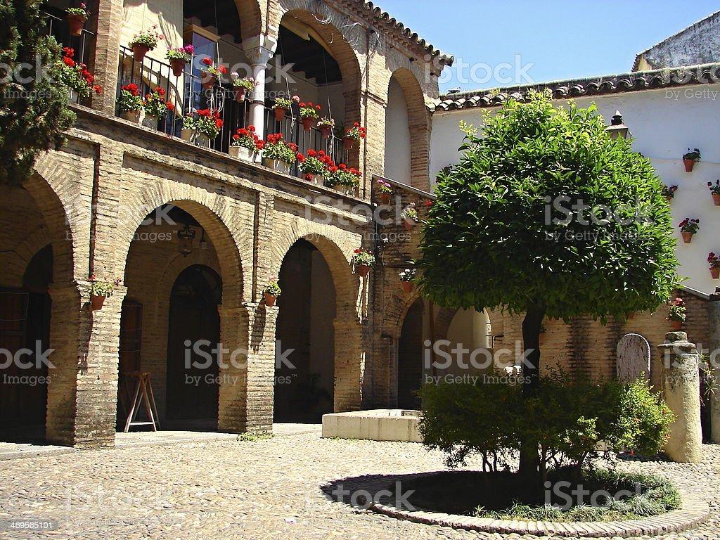 Streets of Sevilla, Spain royalty-free stock photo