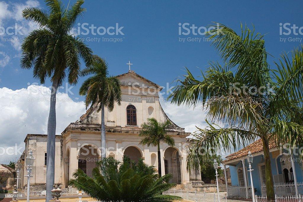 Streets of Trinidad, Cuba royalty-free stock photo