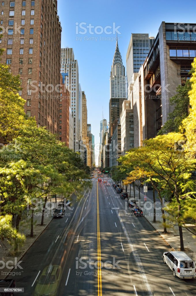 NYC streets. stock photo