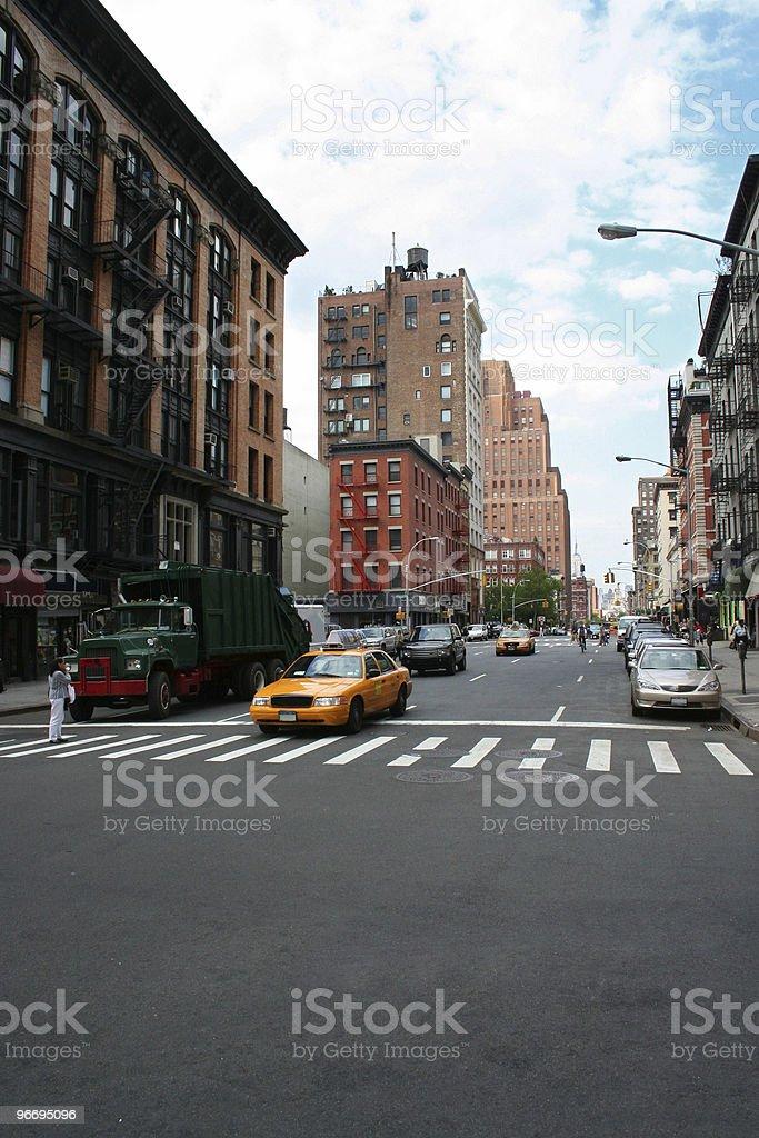 streetscape nyc01 royalty-free stock photo