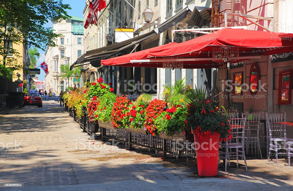 StreetSide Bistro stock photo