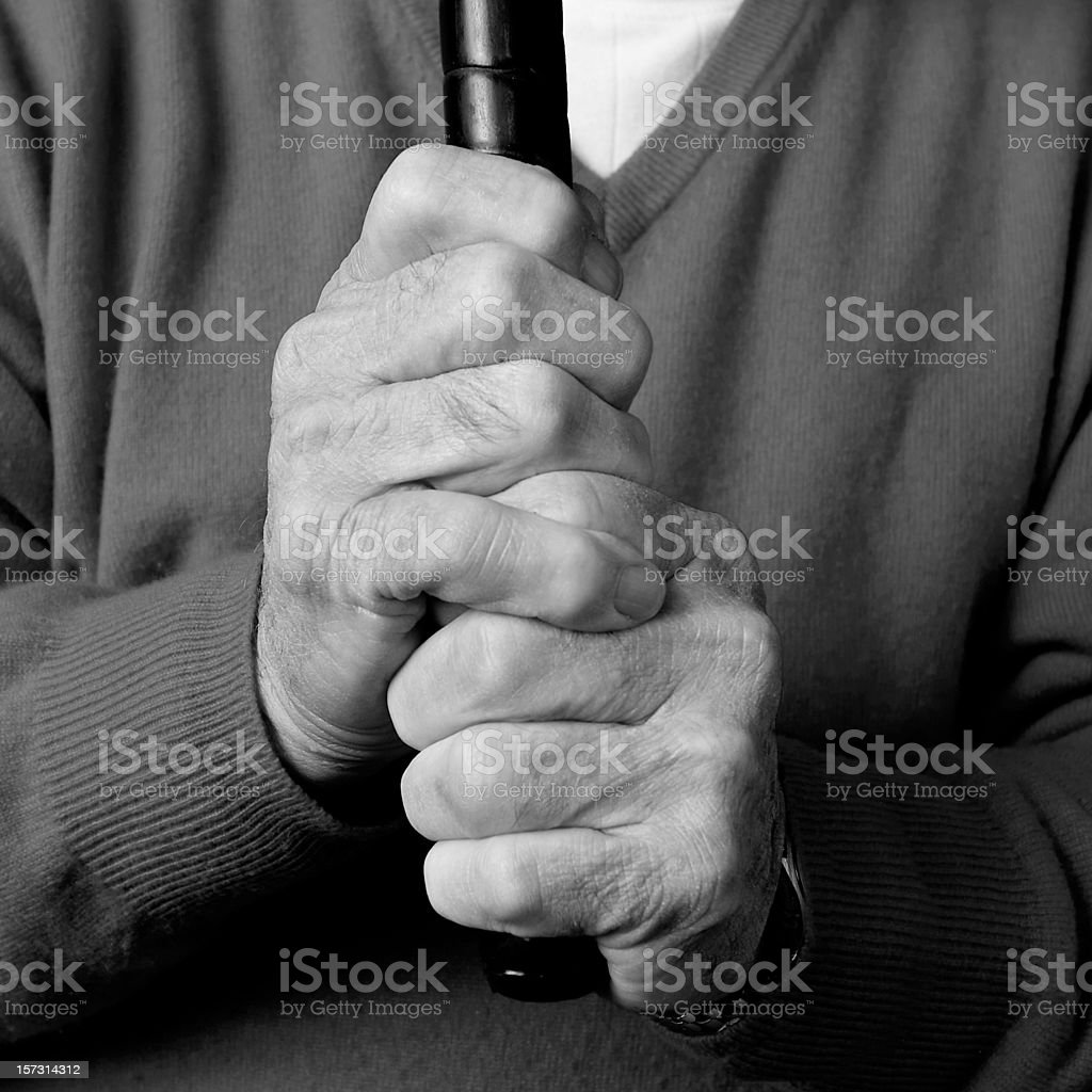 Strength and Determination stock photo