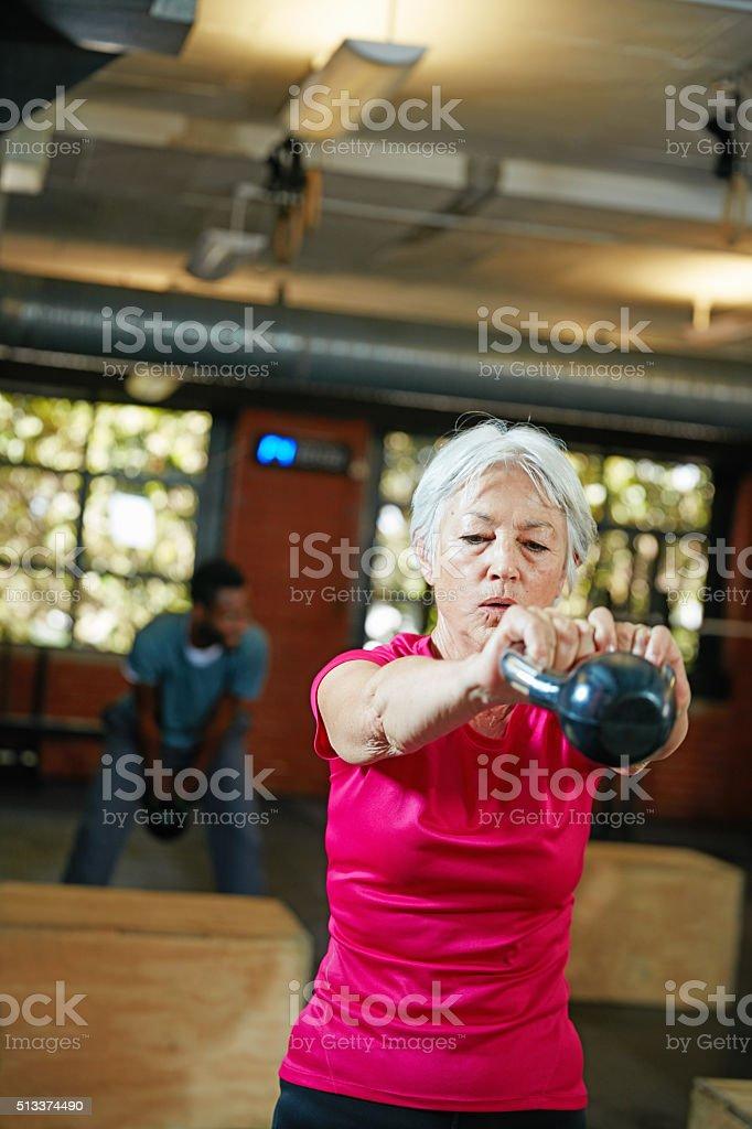 Strength and longevity go hand in hand stock photo