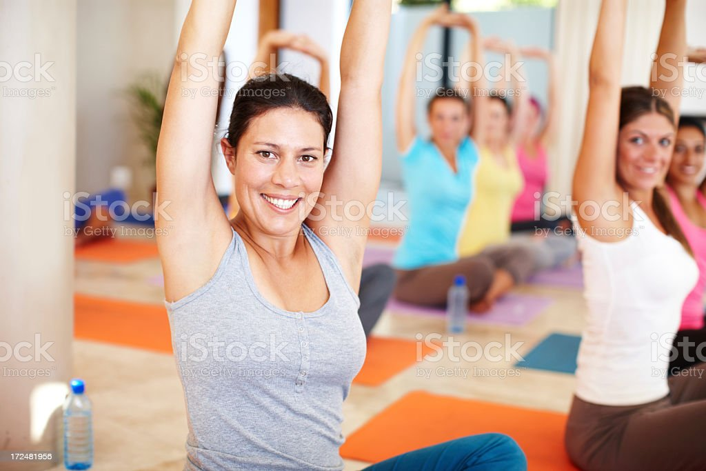 Strength and suppleness royalty-free stock photo