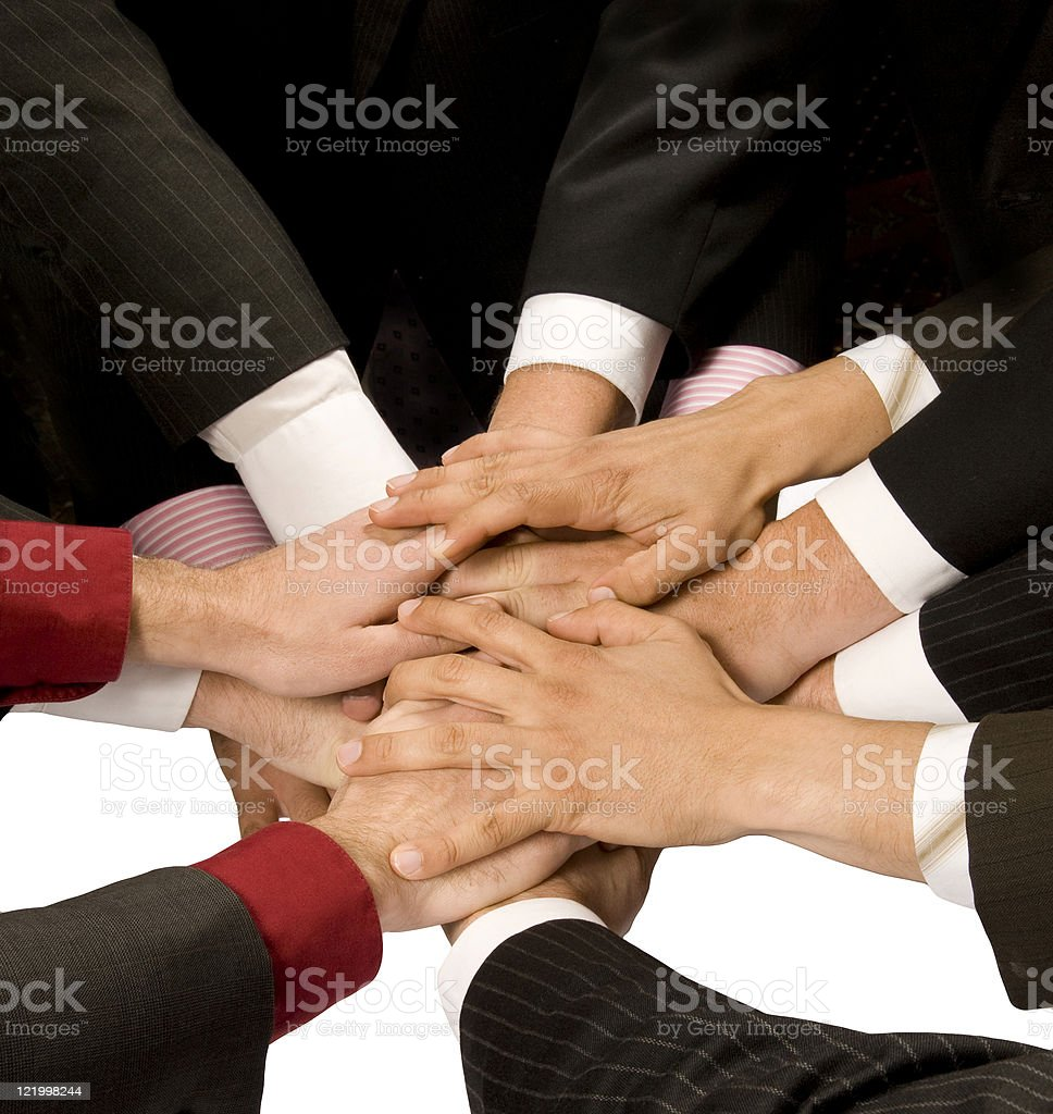 Strength in Numbers ( Teamwork) royalty-free stock photo