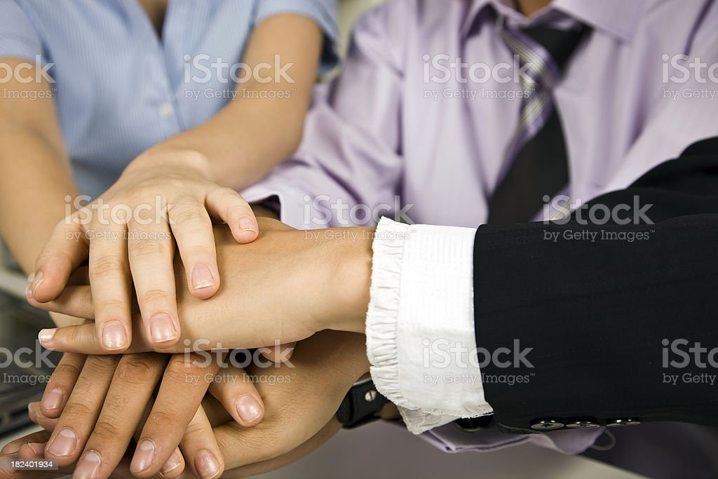 Strength in Numbers stock photo