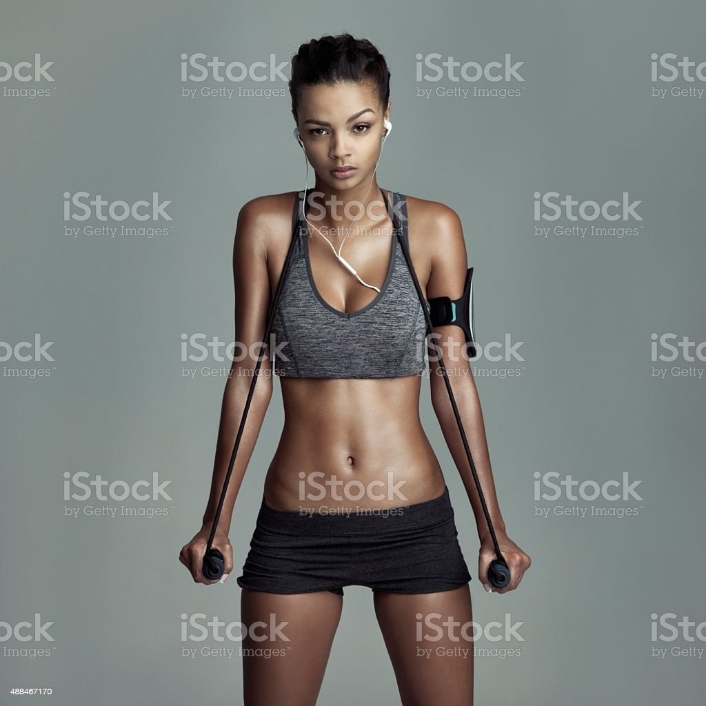 Strength in resistance stock photo