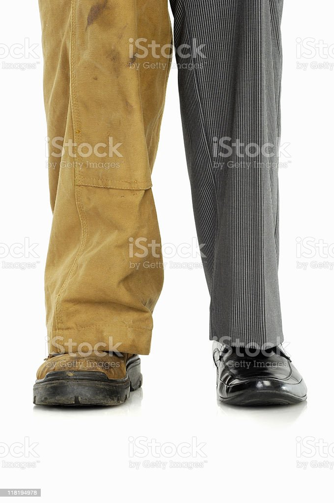 Strength in service and business stock photo