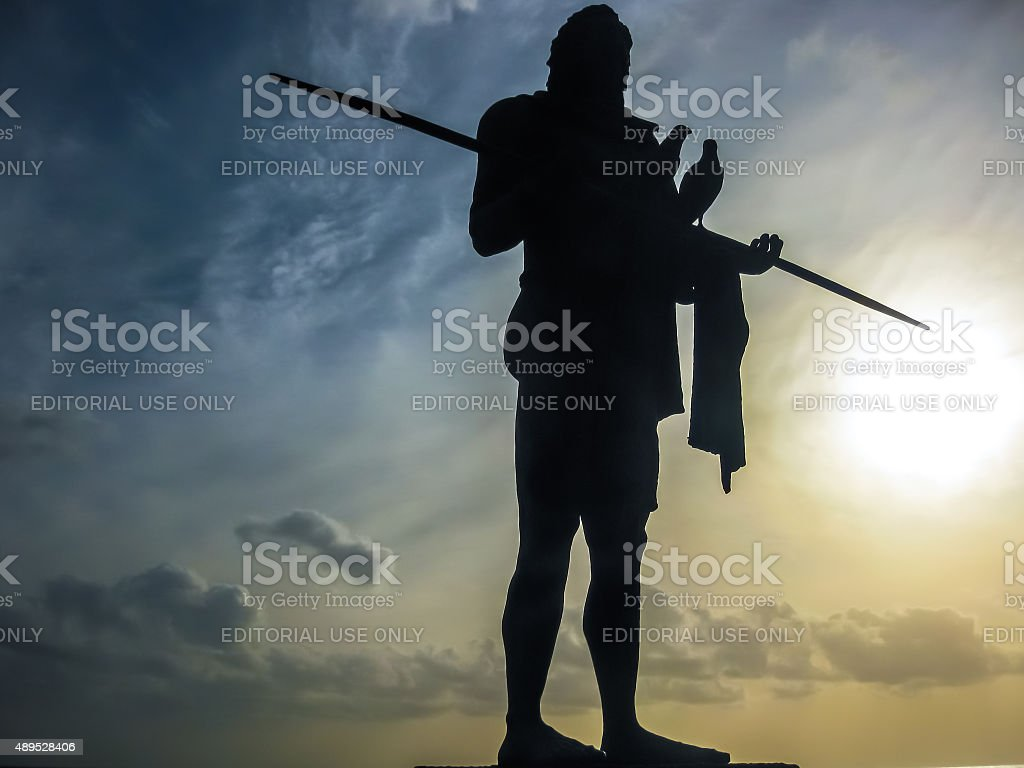 Strength of the king stock photo
