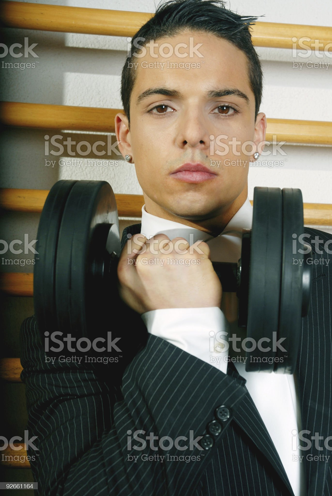 Strength royalty-free stock photo