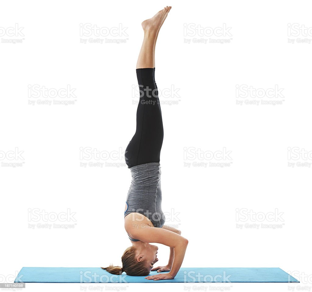 Strengthening through balance stock photo