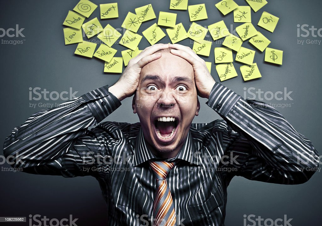 Stress concept royalty-free stock photo