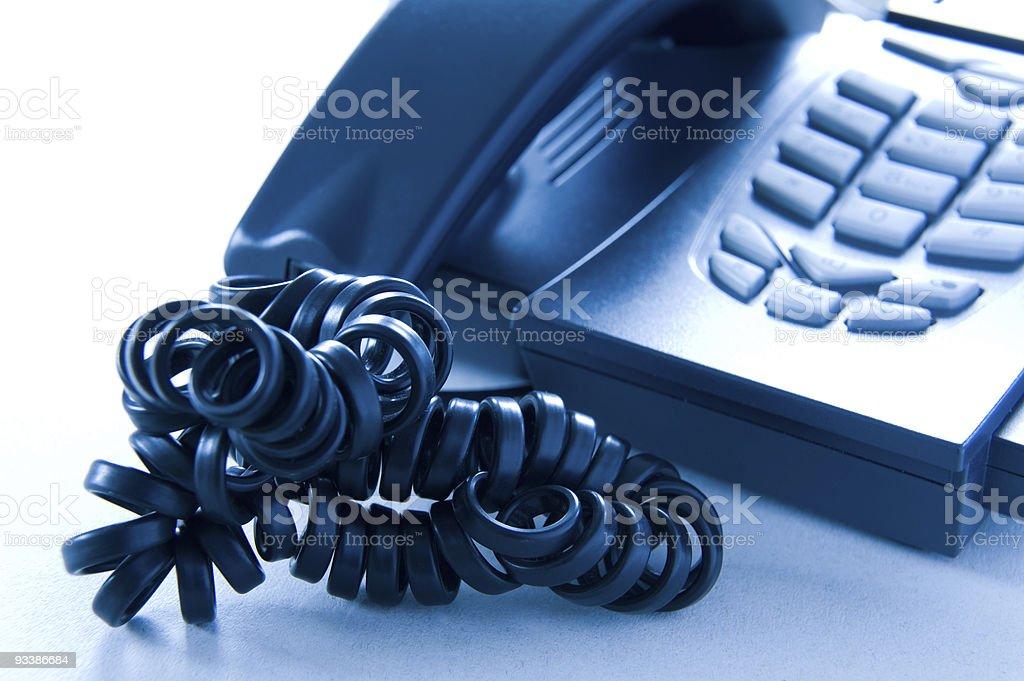 Stress phone royalty-free stock photo