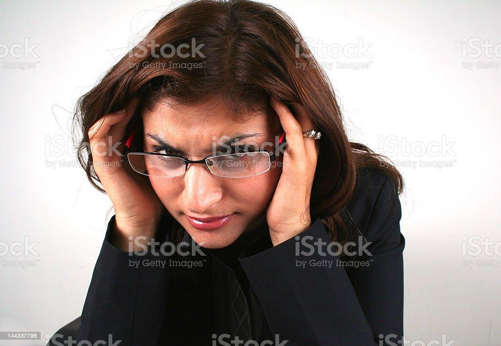 Stress Lizenzfreies stock-foto