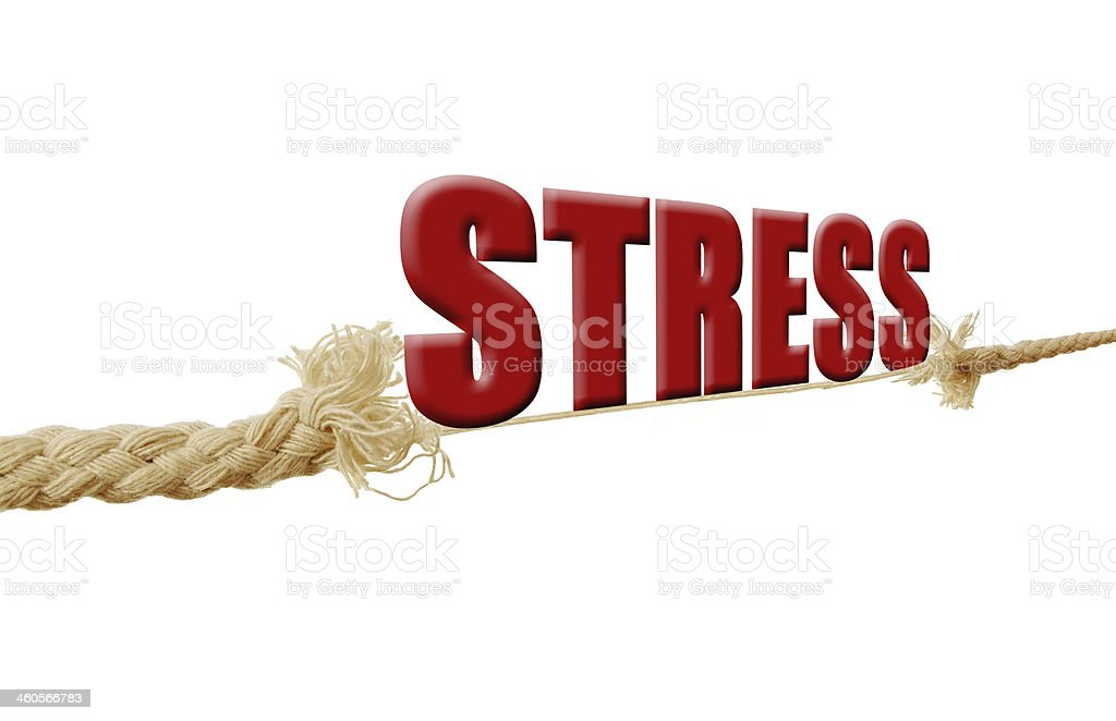 Stress royalty-free stock photo
