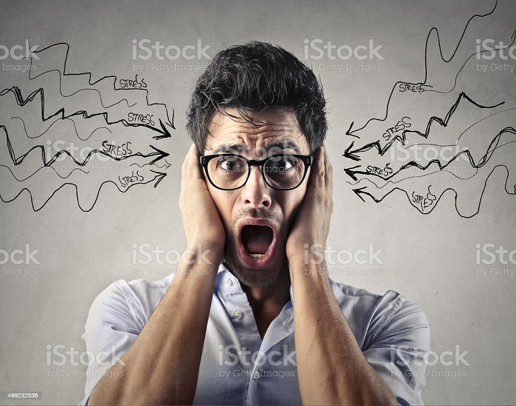 Stress stock photo