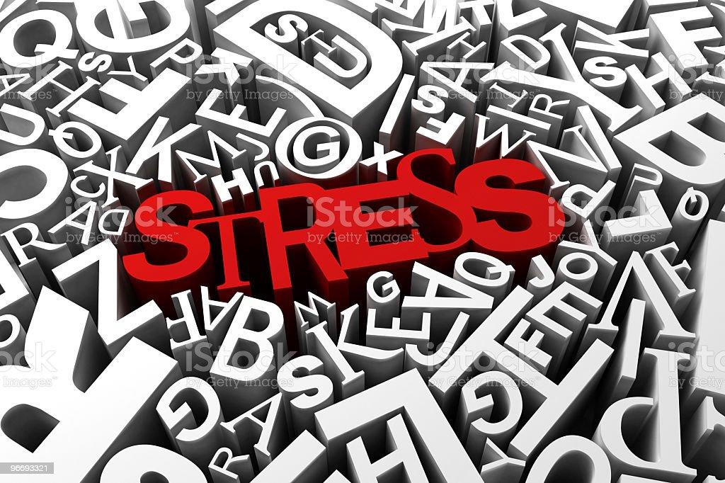 Stress stock photo