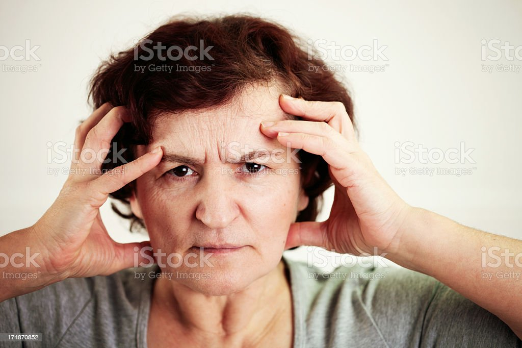 Stressed out! royalty-free stock photo
