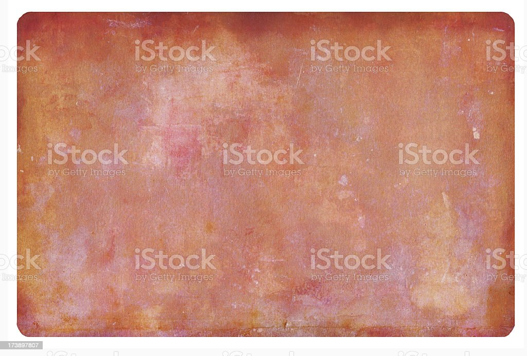 Stressed Peach Card royalty-free stock photo