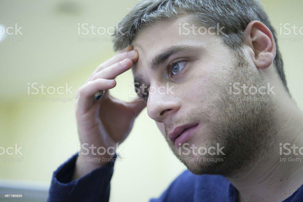 Stressed stock photo