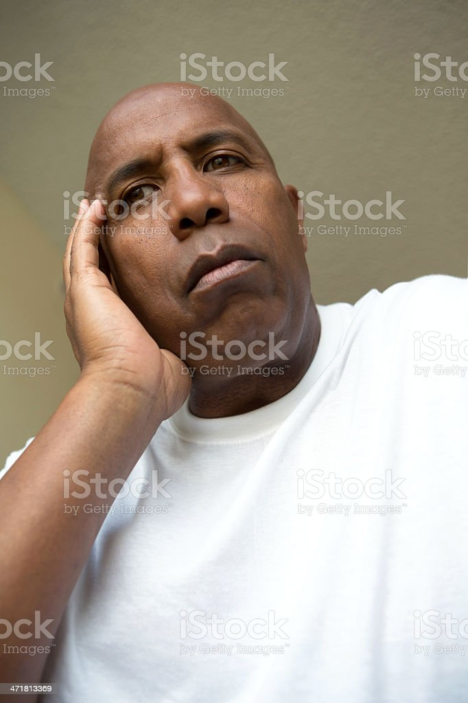 Stressed royalty-free stock photo