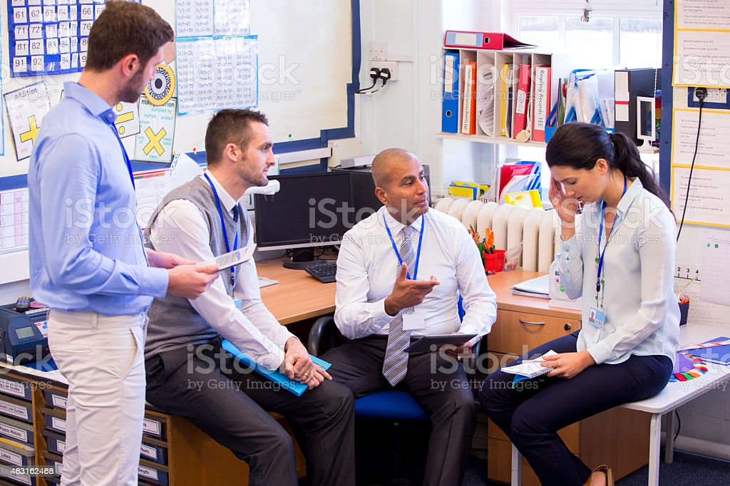 Stressful School Day stock photo