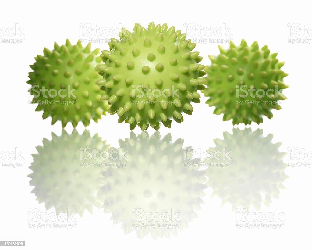 stress/massage balls royalty-free stock photo