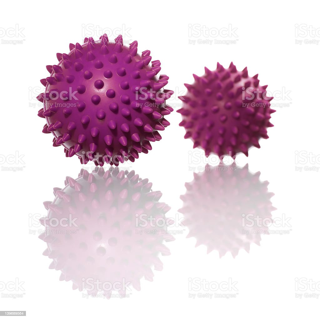 stress/massage balls royalty-free stock photo