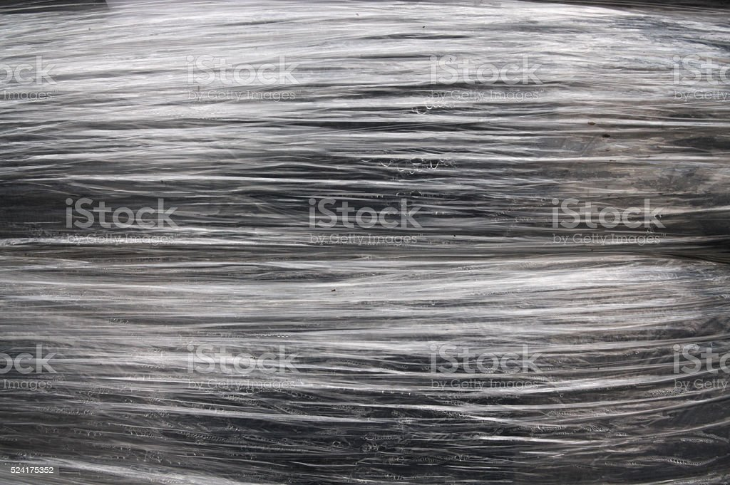 Stretch film texture background stock photo