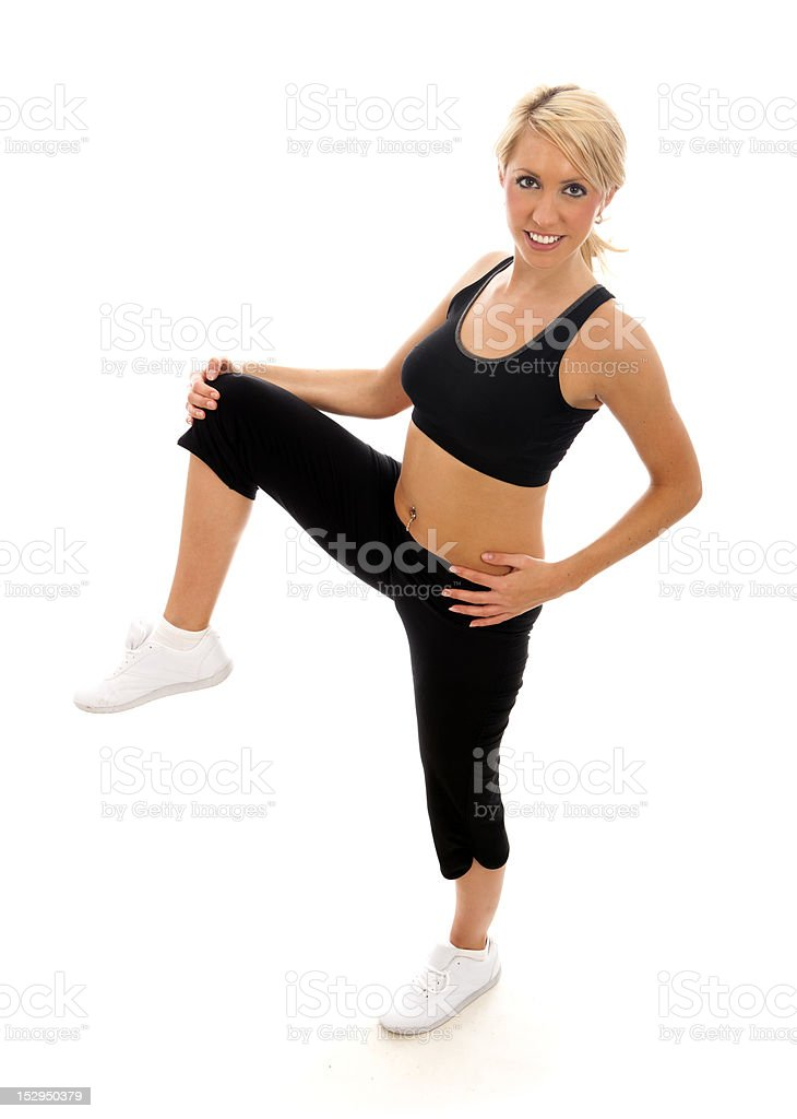 Stretch royalty-free stock photo