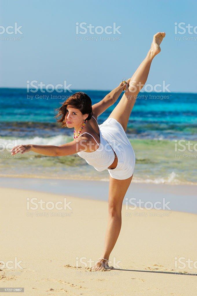 Stretching Exercises royalty-free stock photo