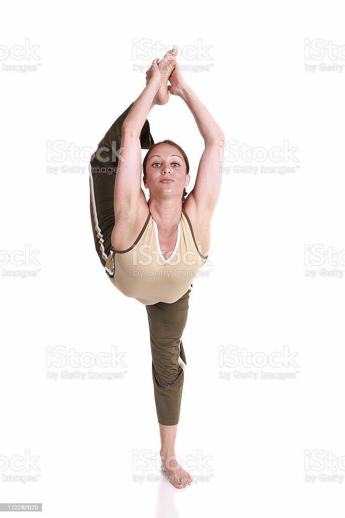 Stretching Forward royalty-free stock photo