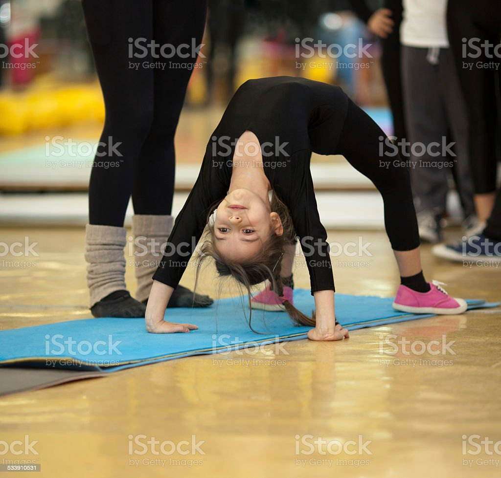 Stretching stock photo