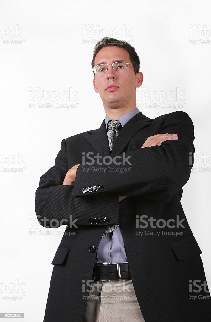 Strict boss royalty-free stock photo