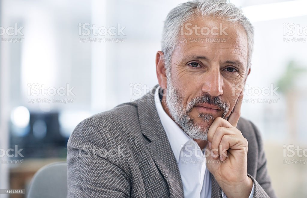 Strictly business stock photo