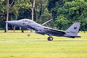 F-15 Strike Eagle landing