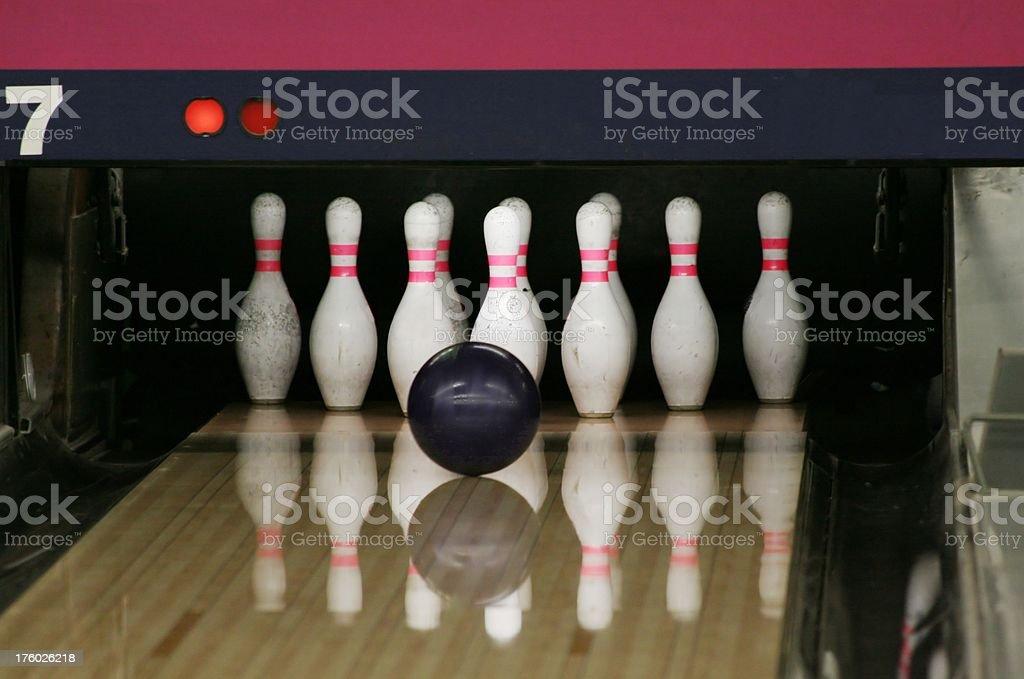 Strike or Split stock photo