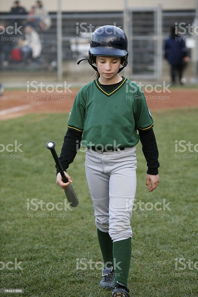 Strike Out! stock photo