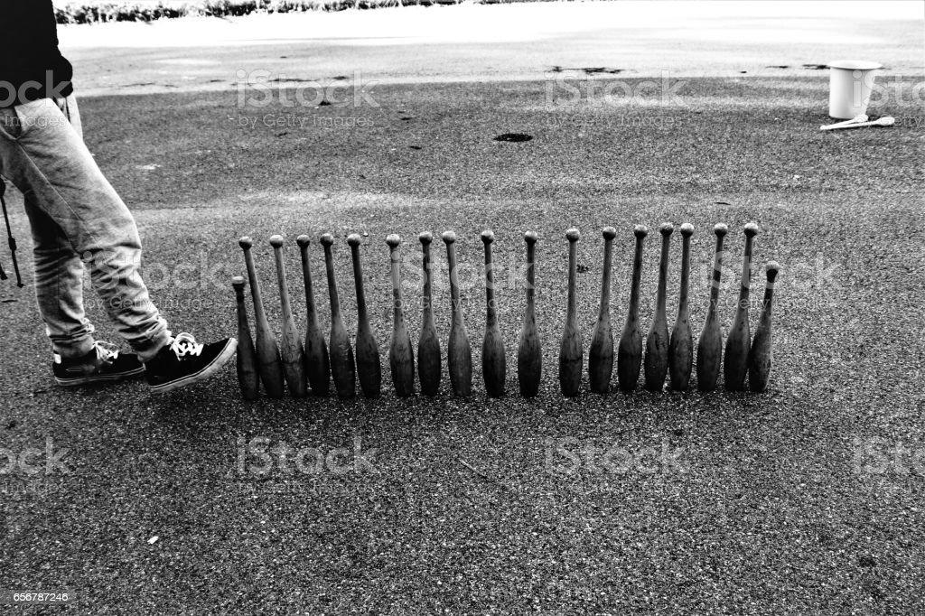 Strike stock photo