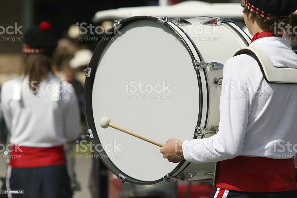 Strike up the band! stock photo