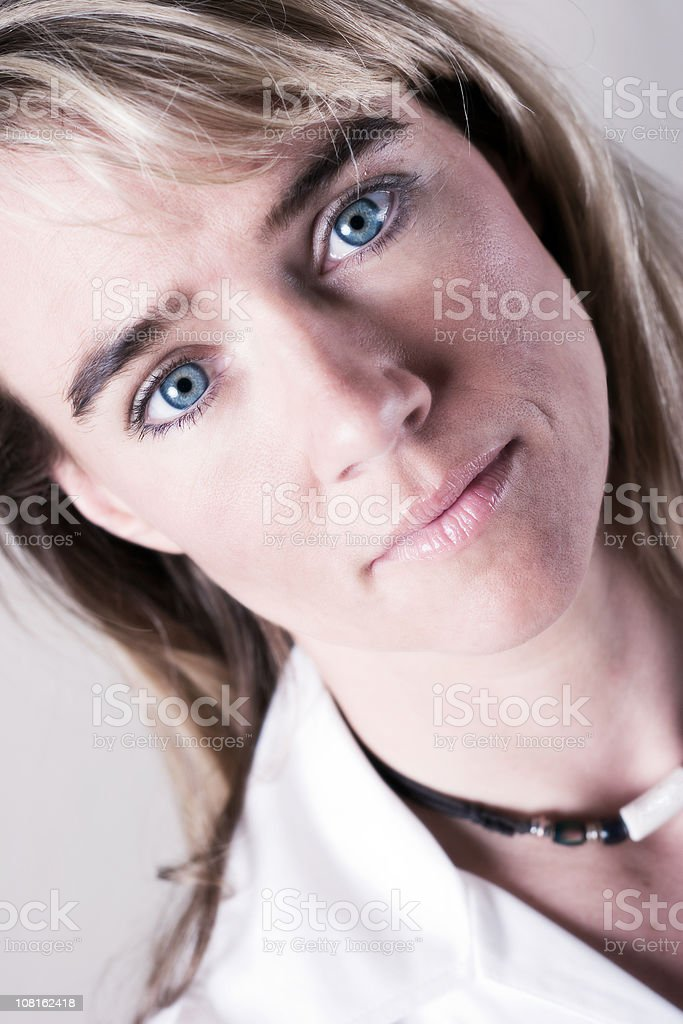 Striking Eyes stock photo