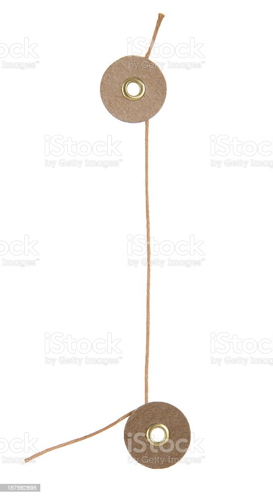 String Buttons royalty-free stock photo
