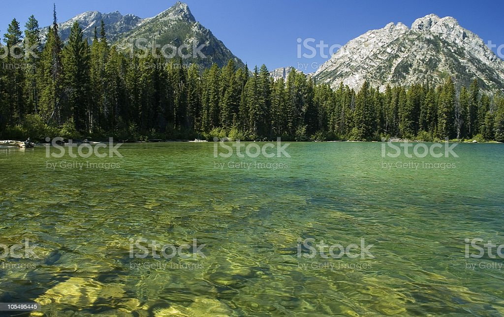 String lake royalty-free stock photo