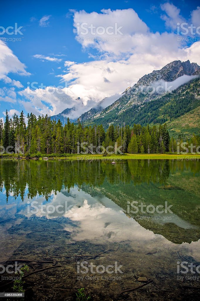 String Lake stock photo