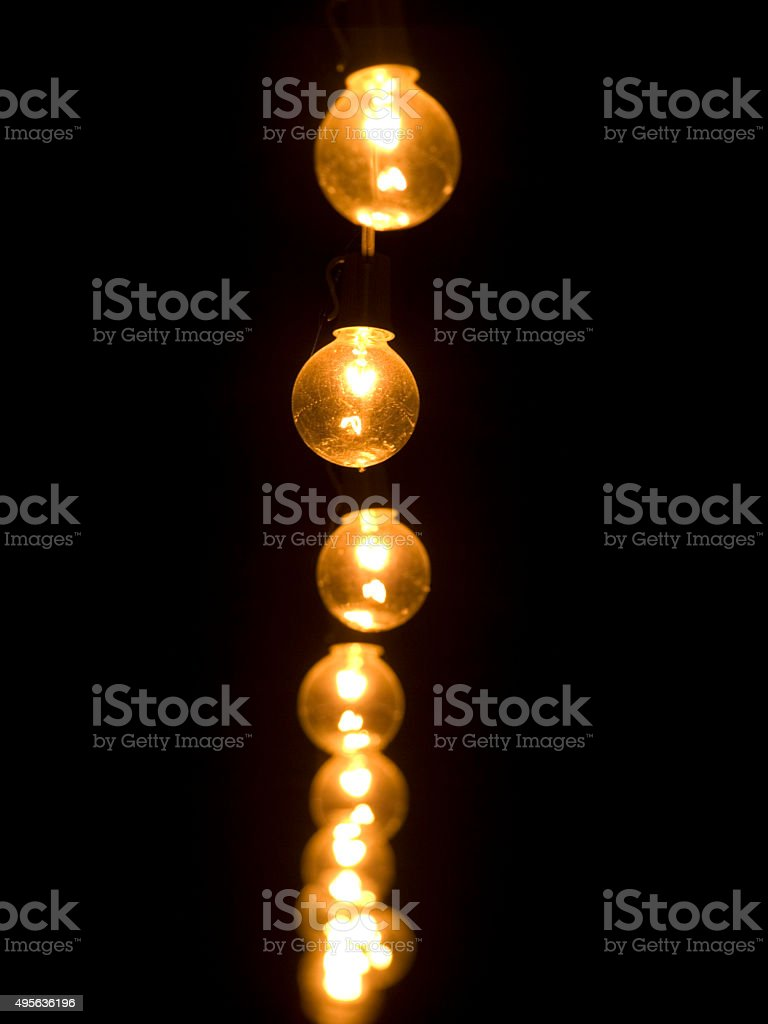 String Lights royalty-free stock photo