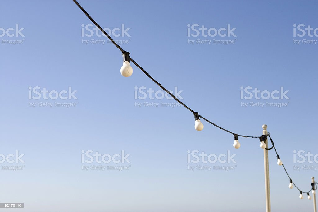 String of Light royalty-free stock photo