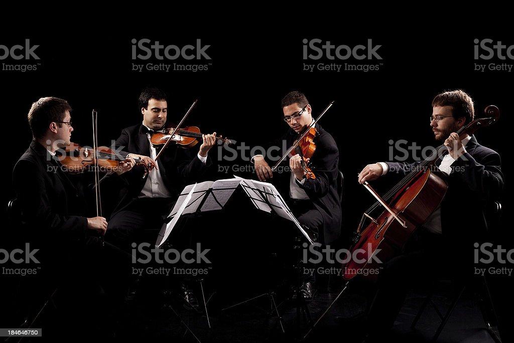 String quartet royalty-free stock photo