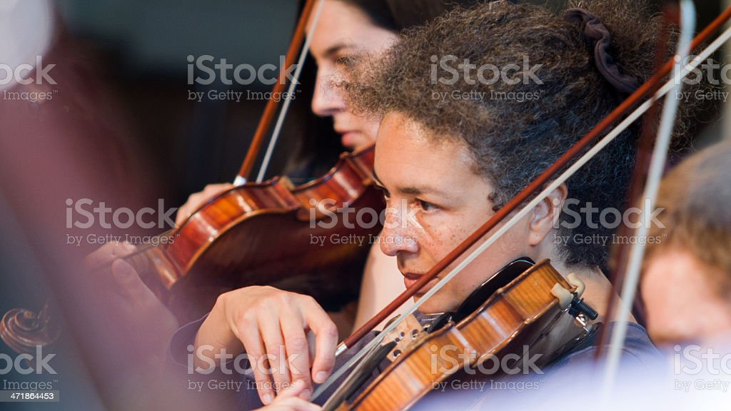 String section stock photo